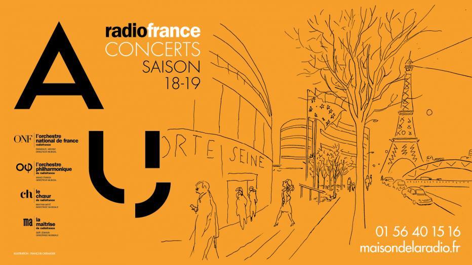 Concerts De Radio France Saison 18 19 Maison De La Radio